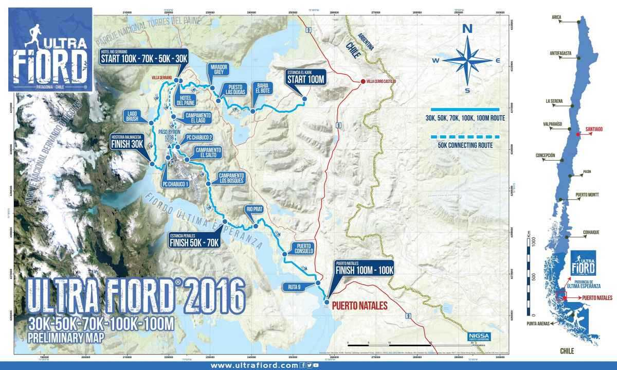 Ultra Fiord Map